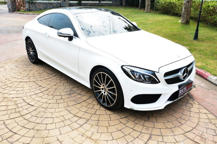 New Mercedes Benz C Coupe