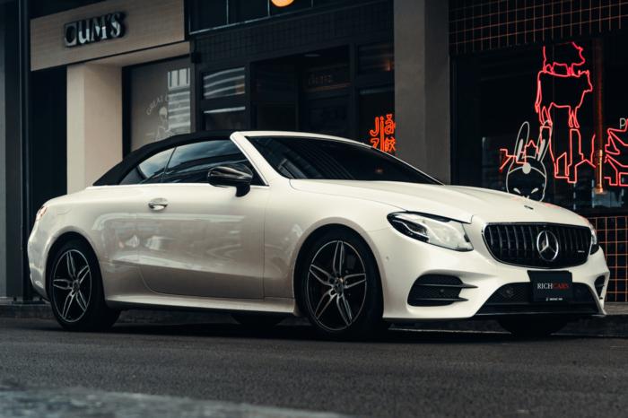 Mercedez Benz E Cabriolet 2020