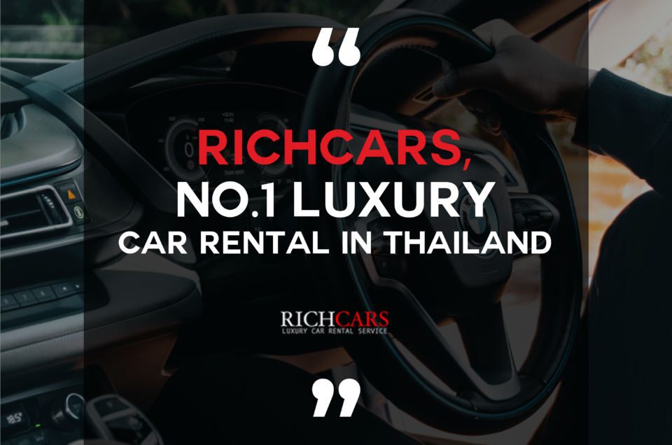 No.1 Luxury Car Rental in Thailand
